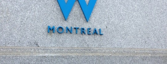 W Montréal is one of Endo's favorite Hotels.