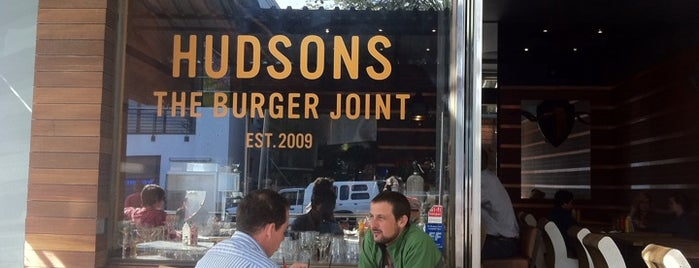 Hudsons - The Burger Joint is one of Top Eateries in Cape Town.
