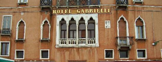 Hotel Gabrielli Sandwirth Venice is one of Locais curtidos por Sabrina.