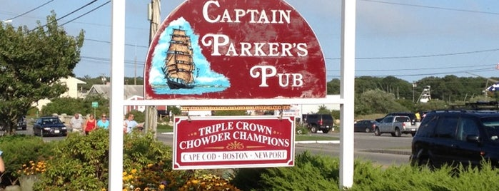 Captain Parker's Pub is one of Posti salvati di Caner.