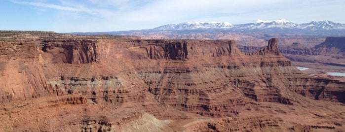 Dead Horse Point State Park is one of Arches Nat'l.