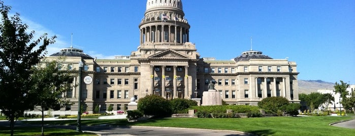 Idaho State Capitol is one of The Crowe Footsteps.
