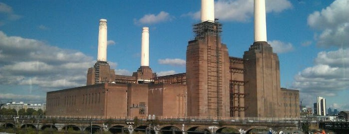 Battersea Power Station is one of London Not-Food Places.