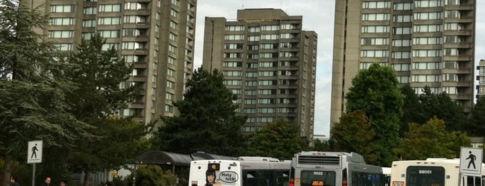 UBC Bus Loop is one of Vancouver Canada Line.