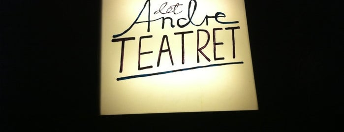 Det Andre Teatret is one of Oslo.