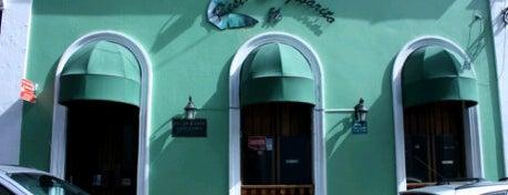 El Jibarito is one of ♪ En Mi Viejo San Juan ♫.