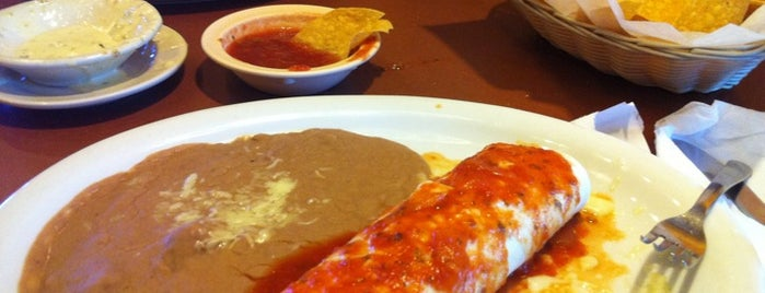 Monterrey Mexican Grill is one of Adventures in Dining: USA!.