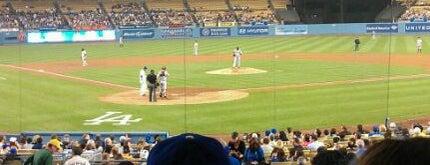 Dodger Stadium is one of Major League Baseball Parks.