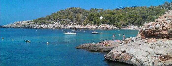 Cala Salada is one of Balearic Incantation on Ibiza's Best Beaches.