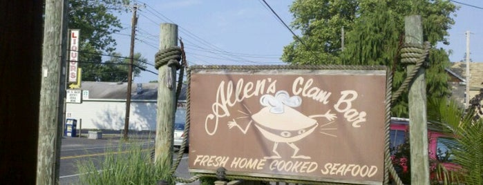 Allen's Clam Bar is one of Orte, die Jasper gefallen.