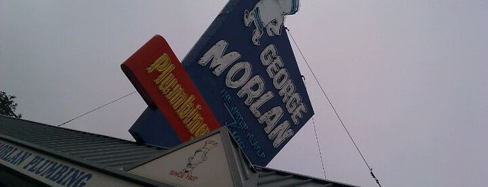 George Morlan Plumbing Supply is one of Portland Signs.