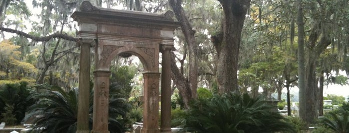 Bonaventure Cemetery is one of Savannah Trip.