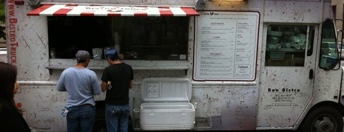 Bistro Truck is one of NYC Food on Wheels.