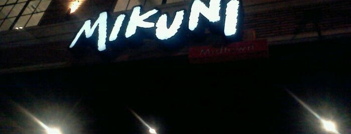 Mikuni is one of California's best places ;).