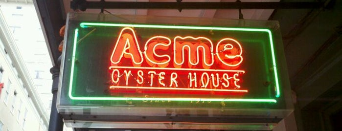 Acme Oyster House is one of New Orleans 2013.