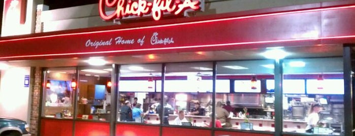 Chick-fil-A is one of Food To-Do.