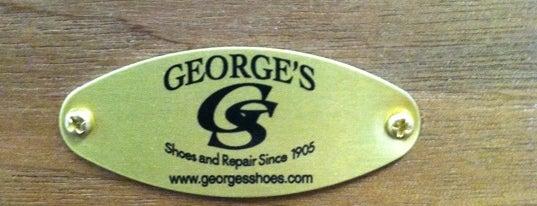 George's Shoe and Repair is one of Natalya'nın Beğendiği Mekanlar.