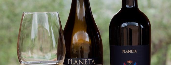 Enoteca Pachera is one of Planeta's wines in the world.