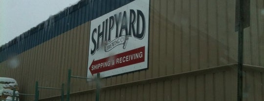 The Shipyard Brewing Company is one of Best US Breweries--Brewery Bucket List.