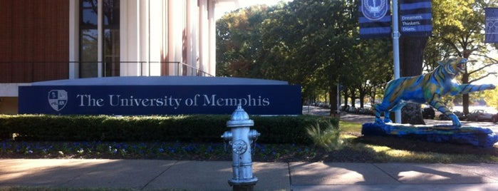 The University of Memphis is one of College Love - Which will we visit Fall 2012.