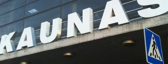 Kauno oro uostas is one of Locais curtidos por Andrey.