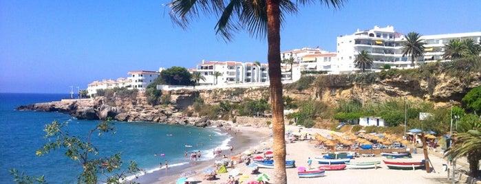 Playa El Salón is one of Nerja.