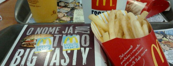 McDonald's is one of Favoritos - Comidas & Lanches.