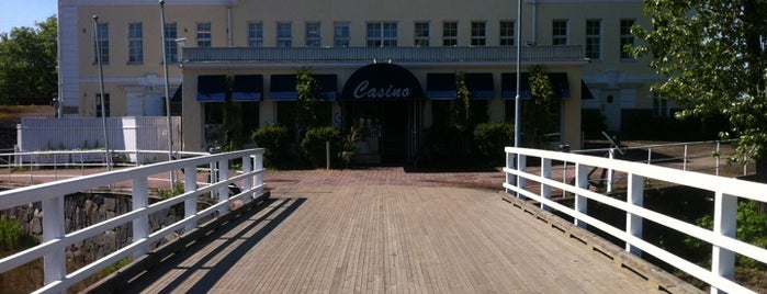 Kulosaaren Casino is one of Lugares favoritos de Piritta.