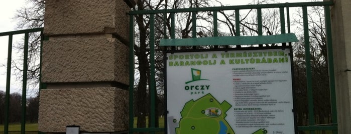 Orczy kert is one of Must-visit Parks in Budapest.