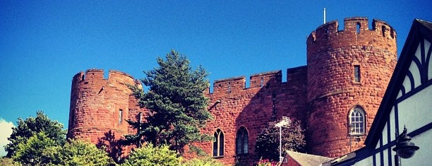Shrewsbury Castle is one of Locais curtidos por Carl.