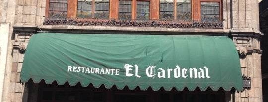 El Cardenal is one of A donde comer.