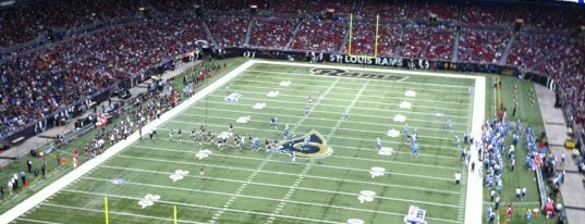 Edward Jones Dome is one of US Pro Sports Stadiums - ALL.