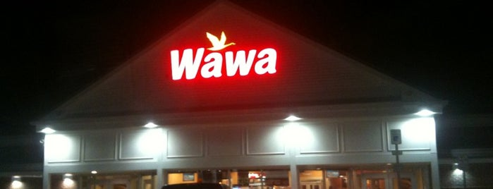 Wawa is one of Locais curtidos por Cole.