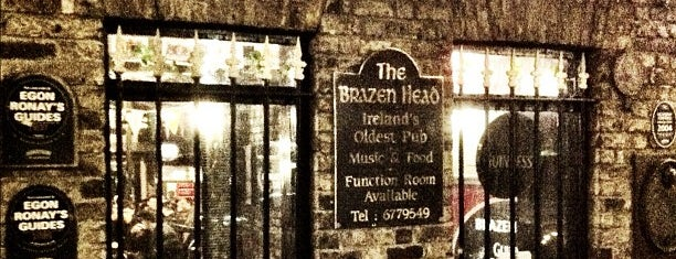 The Brazen Head is one of Éirinn go Brách.