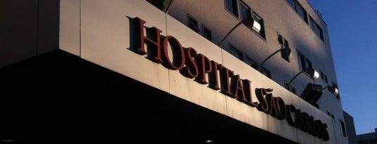 Hospital São Carlos is one of Locais.