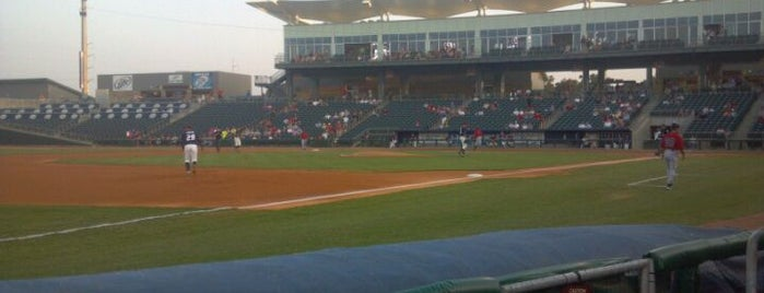 Arvest Ballpark is one of Stadiums Visited.