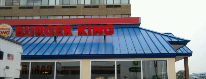 Burger King is one of Orte, die Hoyee gefallen.