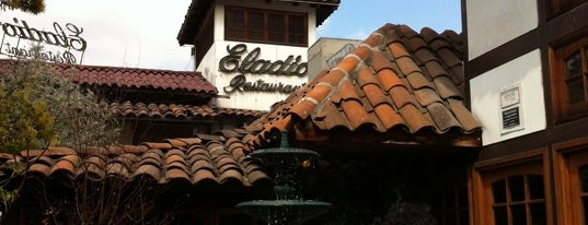 Eladio Restaurant is one of Santiago.