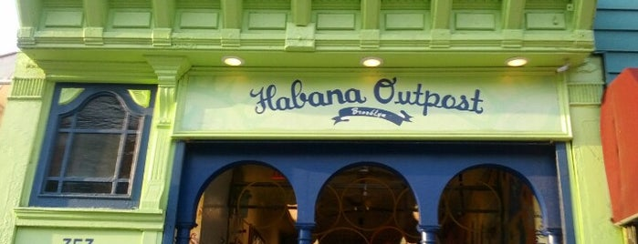 Habana Outpost is one of Outdoor Eats & Dranks.