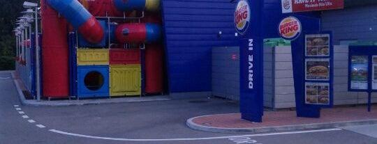 Burger King is one of Tempat yang Disukai Bravura.