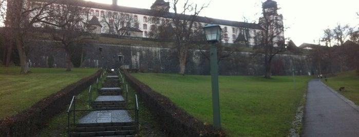 Festung Marienberg is one of 100 обекта - Германия.