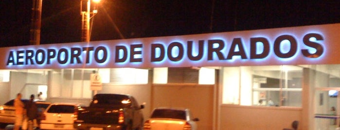 Aeroporto de Dourados (DOU) is one of Airports Visited.