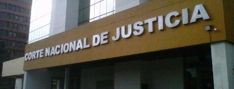 Corte Nacional de Justicia is one of Ecuador.