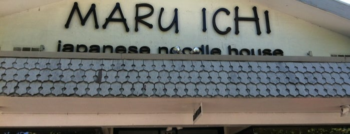 Maru Ichi Japanese Noodle House is one of japanese.