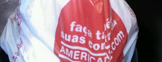 Lojas Americanas is one of สถานที่ที่บันทึกไว้ของ Lucas.