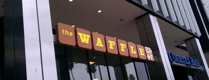 The Waffle is one of LA Fun.