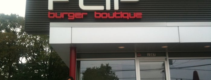 FLiP Burger Boutique is one of Top Chef Restaurants.