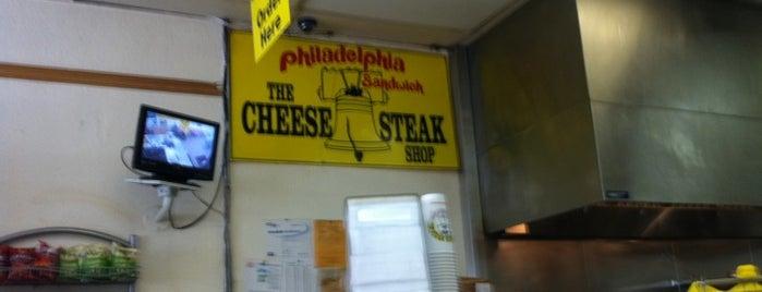 Cheese Steak Shop is one of Locais curtidos por Sean.