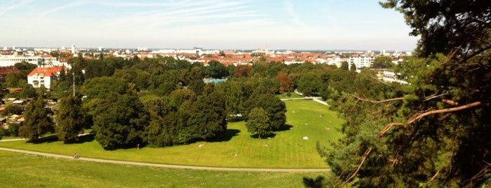 Luitpoldpark is one of Munich Life Style.