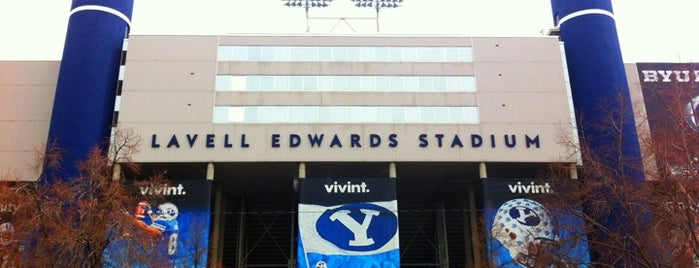 LaVell Edwards Stadium is one of FBS Stadiums.